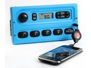 1998-10 Ford Truck Van Interceptor 4 Speaker Radio AM FM Aux Input Blue Version