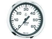 FARIA Spun Silver Series Tachometer