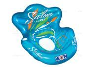 WOW Inflatable water chair lounge, 220 lbs