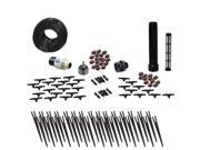 Drip Irrigation Kit for Container Gardening Deluxe Size-Water 30 Plants