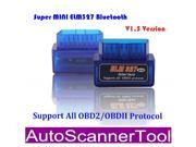 Super Mini ELM327 OBDII Bluetooth Auto Car Diagnostic Scanner Tool V1.5