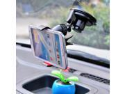 Cwxuan 360-Degree Suction Cup Car Mount Holder for Mobile Phone Black 9SIAAD043A9238