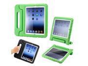Kids Safe Shock Proof Handbag Modeling EVA Case for iPad Mini 1/2/3 Green 9SIV0Z65DH0582