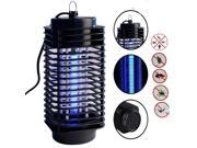 Light-Control Electric Mosquito Fly Bug Insect Zapper Killer With Trap Lamp