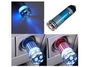 Mini Auto Car Fresh Air Purifier / Oxygen Bar Ionizer Blue 9SIV0Z65DH0132