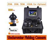CR110-7C DVR Underwater PTZ Rotation 600TVL Camera 360 Degree with 20m to 100m Cable for Underwater Work Fish Finder etc