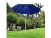1.8m2mOutdoor sun protection garden umbrella with alu pole