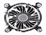 PC Heatsink Round CPU Cooling Cooler Fan for Intel CPU LGA 775 1156 1155 1150 4pin