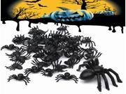 50pcs Halloween Plastic Spiders Spider Funny Joking Toy Decoration 9SIAAD046B0403