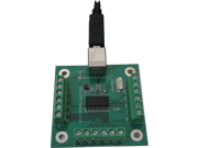 GPIO board for open close switch triggers such as buttons motion sensors or relays.