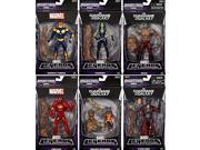 Marvel Legends - Gaurdians of the Galaxy - Infinite Build a Groot Set of 6