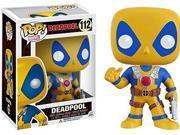 Funko Pop Marvel: Deadpool Yellow/Blue Exclusive Vinyl Figure