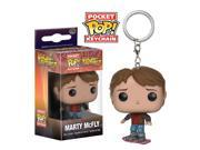 Funko Back To The Future Pocket POP Marty McFly Figure Keychain 9SIAADG4UF0215