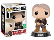 Funko Pop Star Wars: Han Solo With Chewbacca Bowcaster SDCC 2016 Exclusive  #115 9SIAADG4UF0195