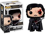 Funko Pop TV: Game of Thrones - Jon Snow Bloody Exclusive Vinyl Figure 9SIAADG5277440
