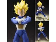 "Bandai Tamashii Nations S.H. Figuarts Super Saiyan Vegeta (Cell Saga) """"Dragon Ball Z"""" Action Figure"" 9SIAADG55A9067"
