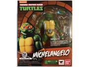 Bandai Tamashii Nations Teenage Mutant Ninja Turtles S.H. Figuarts Michelangelo Action Figure 9SIAADG56P5357