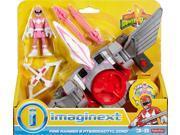 Fisher-Price Imaginext Power Rangers Pink Ranger & Pterodactyl Zord 9SIAD186TW8161