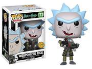 Rick and Morty Weaponized Rick Pop! Vinyl Figure CHASE VARIANT 9SIAADG5N30945
