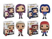 Funko Pop Disney: Descendants - Mal, Evie, Carlos, Jay Complete Set 4-Pack 9SIAADG48J3337