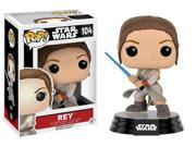 Funko Pop Star Wars: Episode 7 - Rey with Lightsaber Vinyl Figure 9SIA1WB56E5097