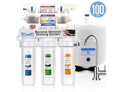 10 Stage Alkaline Antioxidant Reverse Osmosis Home Drinking Water Filtration System- 100 GPD MODERN
