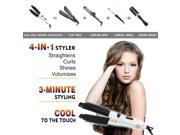 Electric Hair Straightener hair curlers LCD Hair iron Auto Hair Massager Tool