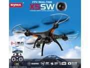 Syma X5SW FPV Explorers2 2.4Ghz 4CH 6-Axis Gyro RC Headless Quadcopter Drone UFO with 2MP HD Wifi Camera (Matte Black)