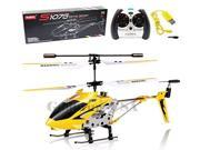 Syma S107/S107G Phantom 3CH 3.5 Channel Mini RC Helicopter with Gyro (Yellow)