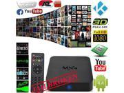 MXQ Quad Core Android Smart Sets TV BOX XBMC KODI Full Loaded Media Player 1080P