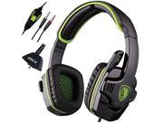 HiFi Stereo Bass 3.5mm Gaming Headset Headband with Mic for XBOX 360 PC Notebook