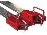 "Titan Forklift 2"" Trailer Hitch Receiver for Dual Pallet Forks Towing Gooseneck"