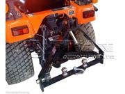 Kubota BX Trailer Hitch compact tractor drawbar 3 point three john deere (TD)