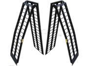 Titan Pair 9 ft Aluminum Wide UTV Loading Ramps Ranger Rhino Gator ATV (108-M2)