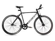 Fortified Bicycle Invincible 1 speed (50 cm) black theft-proof bike