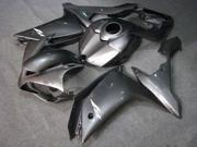 Grey Silver Complete Fairing Kit Bodywork Injection for Yamaha Yzf R1 2007-2008