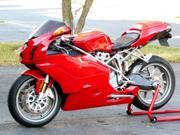 Red ABS Fairing Bodywork Cowl kit Injection For 2003-2004 Ducati 749 999