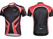 CHEJI Men Cycling Jersys Short Sleeve Marshall Red Riding Clothing