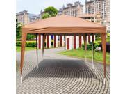 10'X20' EZ POP UP Wedding Party Tent Folding Gazebo Beach Canopy W/Carry Bag Cafe