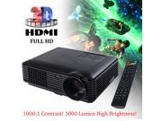 5000 Lumens HD 1080P Home Theater Projector 3D LED Portable SD HDMI VGA USB