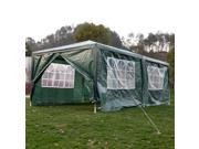 Outdoor 10 x20 Canopy Party Wedding Tent Heavy Duty Gazebo Pavilion Cater Events Green
