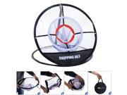 Portable 20'' Golf Training Chipping Net Hitting Aid Practice In Outdoor Bag
