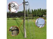 15' Deluxe Hunting Ladder Stand Tree Stand Safety Harness Archery Deer TreeStand thumbnail