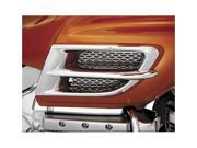 Show Chrome Chrome Side Fairing Accent Grille 52 682