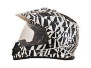 Afx Fx-39 Dual Sport Helmet Fx39 Dazzle  2xl 0110-4220 9SIA1454TW9187