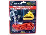 Trimax Rotor/disc Locks Yellow 5.5mm T645s