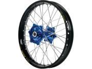 Talon Engineering Wheel 1.60x21 Dk.blu Hub Black Rim 56 3175db