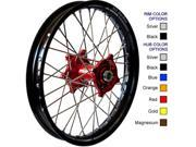 Talon Engineering Wheel 1.60x21 Dk.blu Hub Black Rim 56 4175db