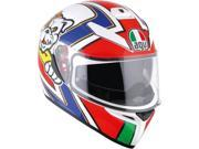 AGV K3 SV Luca Marini Full Face Helmet Red/White/Blue SM 9SIA1454WR6336
