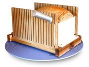 USA Made. Foldable, Compact Bread Slicing Guide. Perfect Slicing Made Easy!